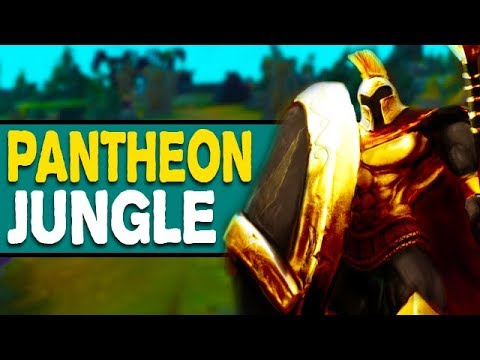 HARD CHEESE PERMA GANK JUNGLER - Pantheon Jungle Gameplay - Season 8