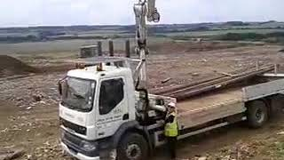 Telegraph Pole Installation By HSL Utilities Ltd