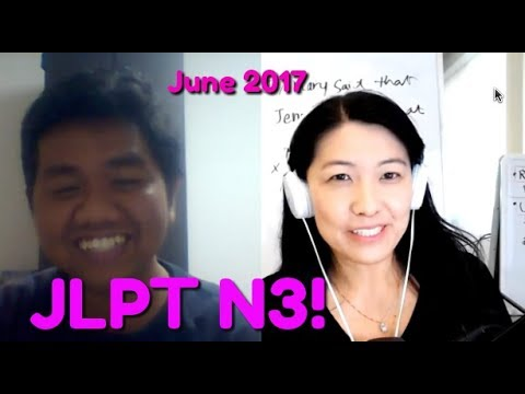 JLPT N3! Let's see if you can pass (3)