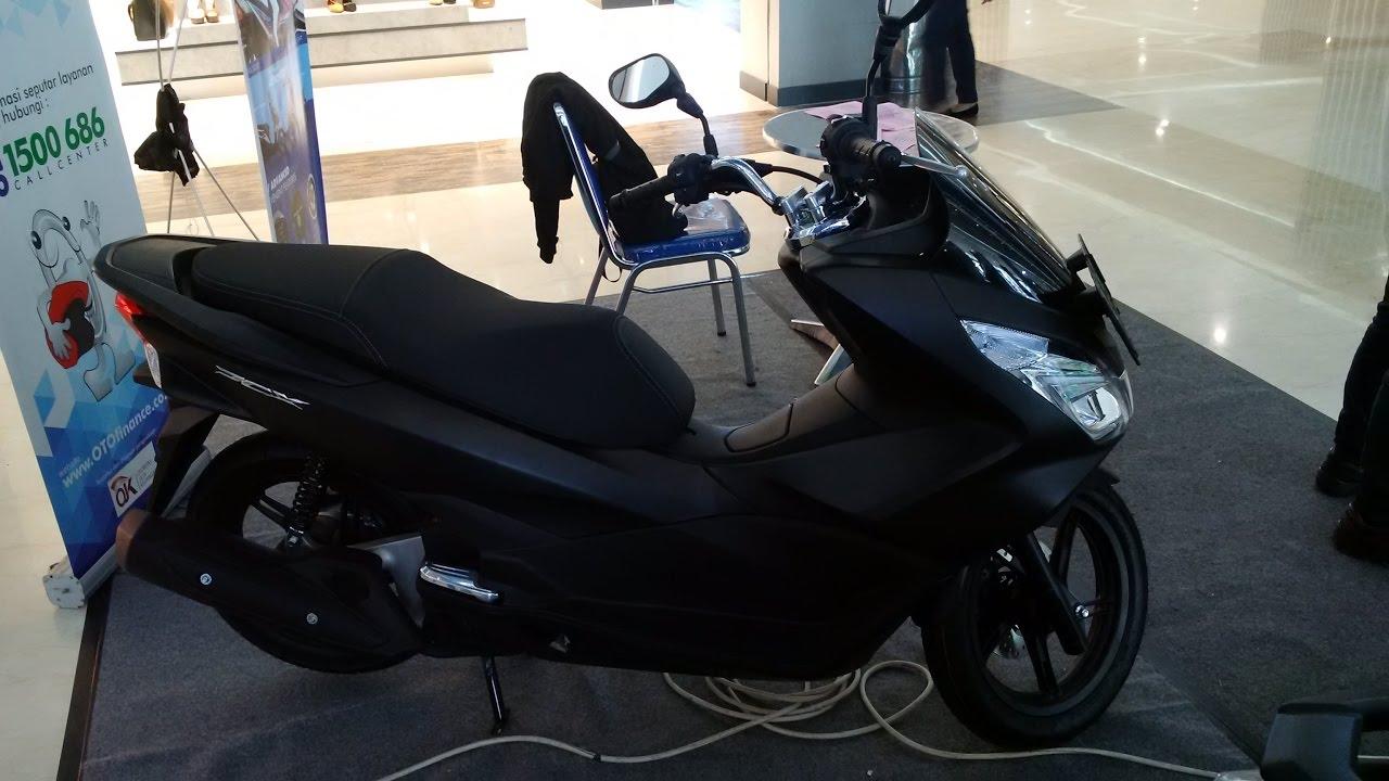 Sekilas Honda All New Pcx 150 Hitam Doff Youtube