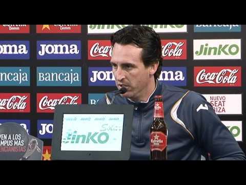 Rueda de prensa de Unai Emery/ Unai Emery press conference 01-05-2012