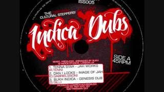 "Indica Dubs - Tenna Star, Dan I Locks - Jah Works, Image of JAH, Tribulation 12"" [ISS005]"