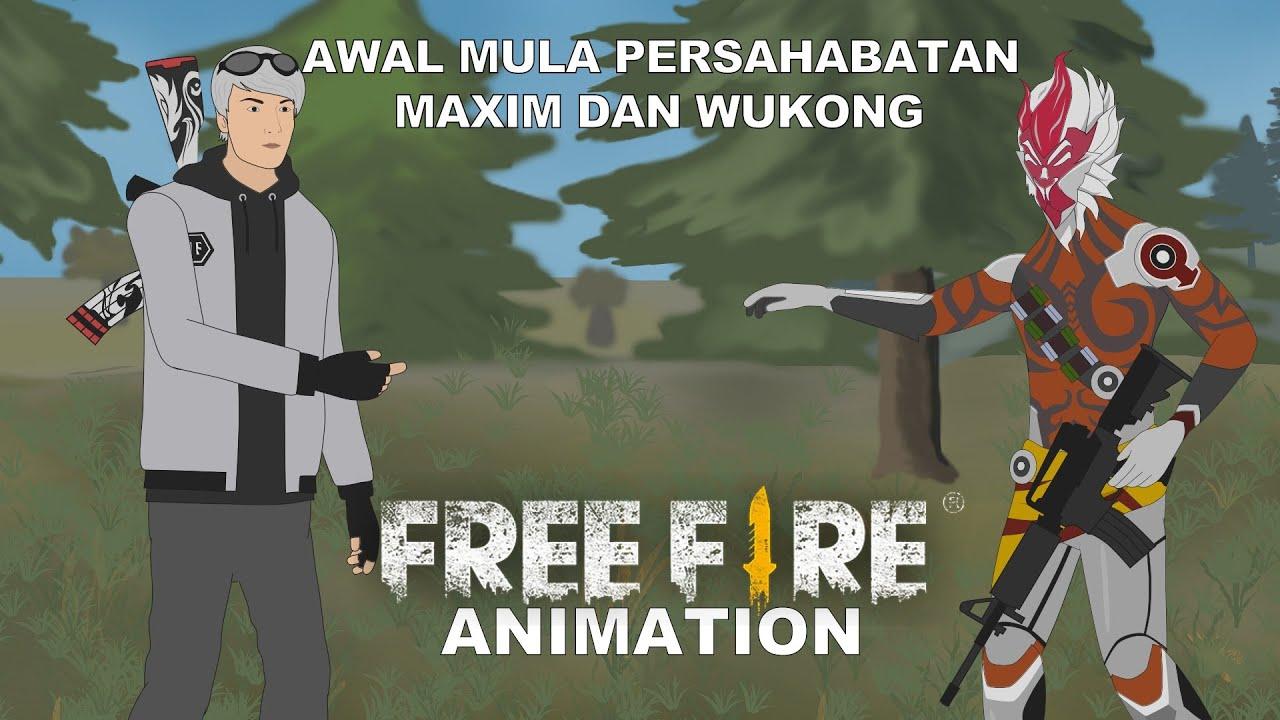 Awal Mula Persahabatan Maxim Dan Wukong | Free Fire Animation