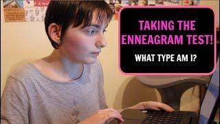Taking The Enneagram Test!