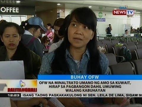 BT: OFW na minaltrato ng amo sa Kuwait, hirap sa pagbangon dahil umuwing walang kabuhayan