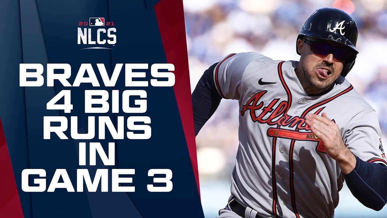 BRAVES COME BACK HARD! Atlanta puts up 4 runs in 4th to take lead in NLCS Game 3!