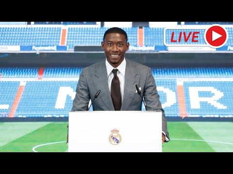 LIVE | DAVID ALABA Real Madrid presentation