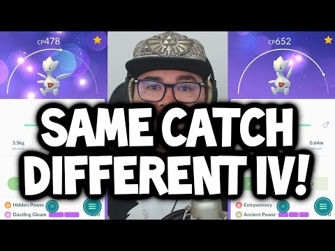BREAKING NEWS: CAUGHT POKEMON IVS & MOVESET DIFFERENT FOR EVERYONE NOW ★ POKEMON GO UPDATE NEWS!
