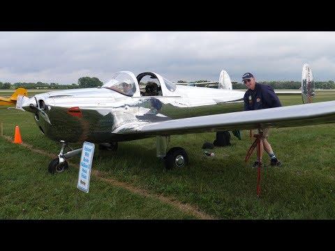 Ercoupe Airplane At EAA Oshkosh AirVenture