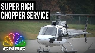 FOR $2,800 YOU CAN RIDE THIS CHOPPER FROM NYC TO LONG ISLAND | Secret Lives Of The Super Rich
