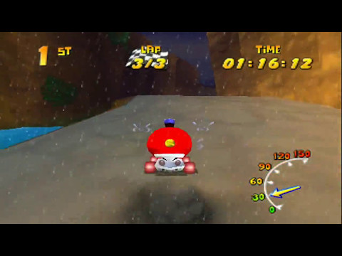 Diddy Kong Racing - Wizpig Race as T.T. [Purple Boosts]
