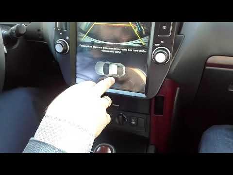 Панель Tesla для Toyota Land Cruiser 200 и Prado 150