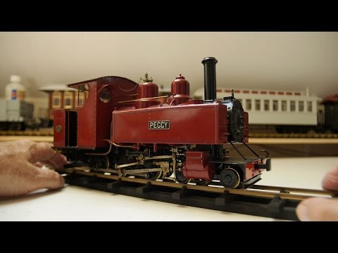 Live Steam Model Locomotive part 12 – Baldwin Wrightscale 'Peggy'