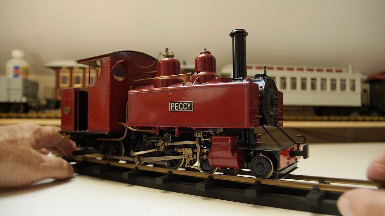 Live Steam Model Locomotive part 12 - Baldwin Wrightscale 'Peggy'