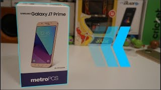 Samsung Galaxy J7 Prime Unboxing and First Impressions | Metro PCS