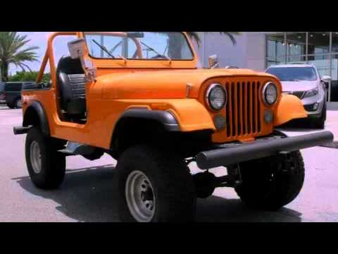 Old jeep wrangler 1980