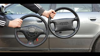 Audi A4 B5 Steering Wheel remove / S-line TUNING