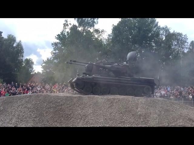 Flakpanzer Gepard - Stahl auf der Heide 2017