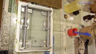 Ось z, заливка полимербетона, серия 4(Подробности тут http://www.sam0delki.ru/viewtopic.php?p=21125#p21125 Композиция