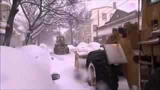 Snow Removal Blizzard Juno Trenton Street East Boston