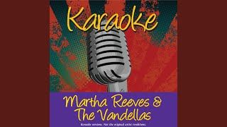 I Can't Dance To That Music You're Playin' (In The Style Of Martha Reeves & The Vandellas)