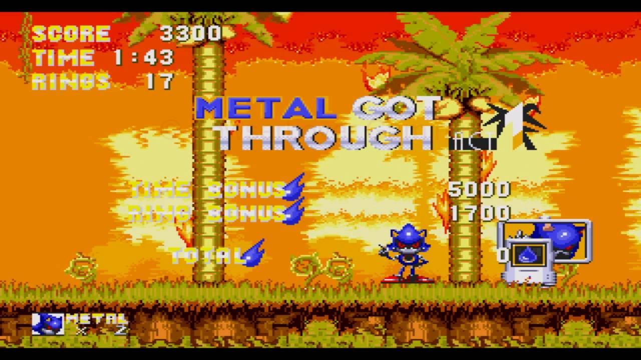 Metal Sonic in Sonic 3 & Knuckles (Rom Hack Gameplay) [HD 60FPS]