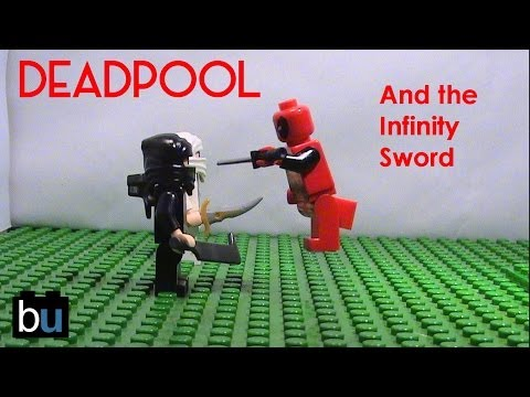 LEGO Deadpool and the Infinity Sword