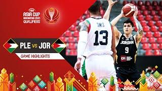 Palestine - Jordan | Highlights - FIBA Asia Cup 2021 Qualifiers