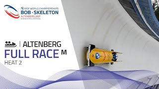 Altenberg | BMW IBSF World Championships 2021 - 2-Man Bobsleigh Heat 2 | IBSF Official