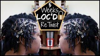 STARTER LOCS FIRST WASH AND RETWIST! | MY LOC JOURNEY