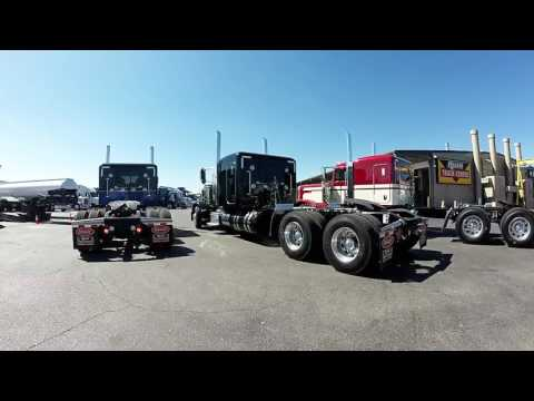Peterbilt 389's At Rush Truck Center Albuquerque New Mexico