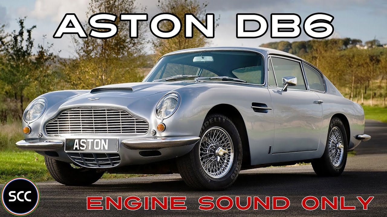 Aston Martin Db6 Vantage 1967 Engine Sound Only Gopro Scc Tv