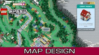Map Design of Forza Horizon 4 LEGO Speed Champions Expansion