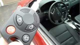 Ford Fusion Alarm Test & Demo