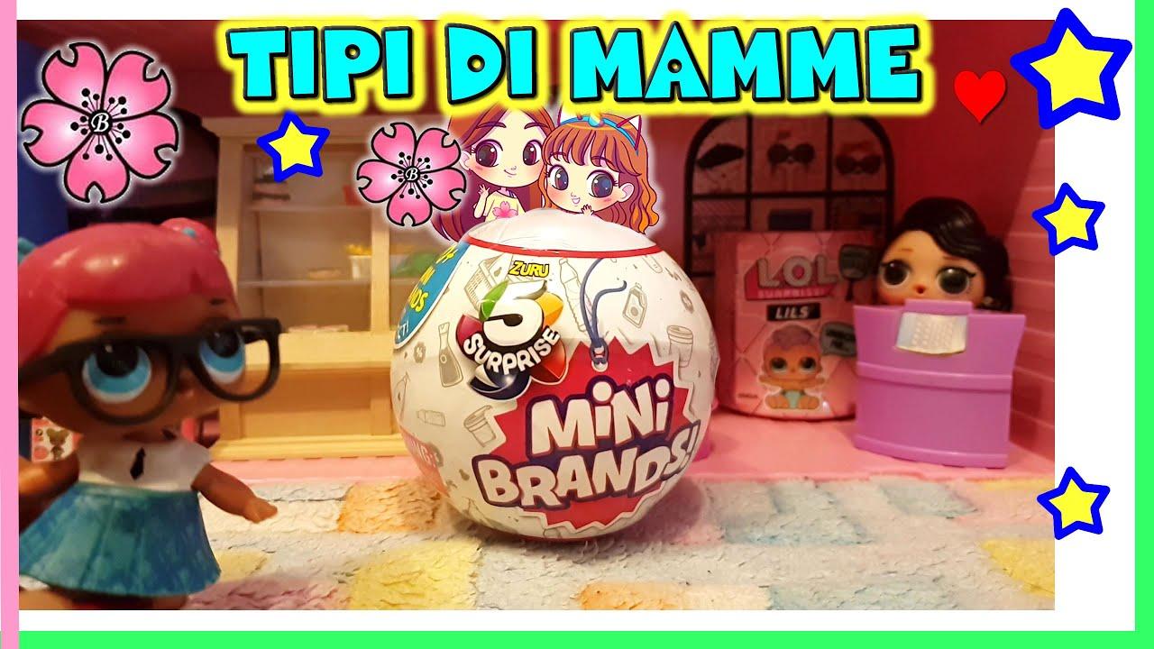 Tipi Di Mamme Al Supermercato Mini Brands Toy Hunting E Storia Lol