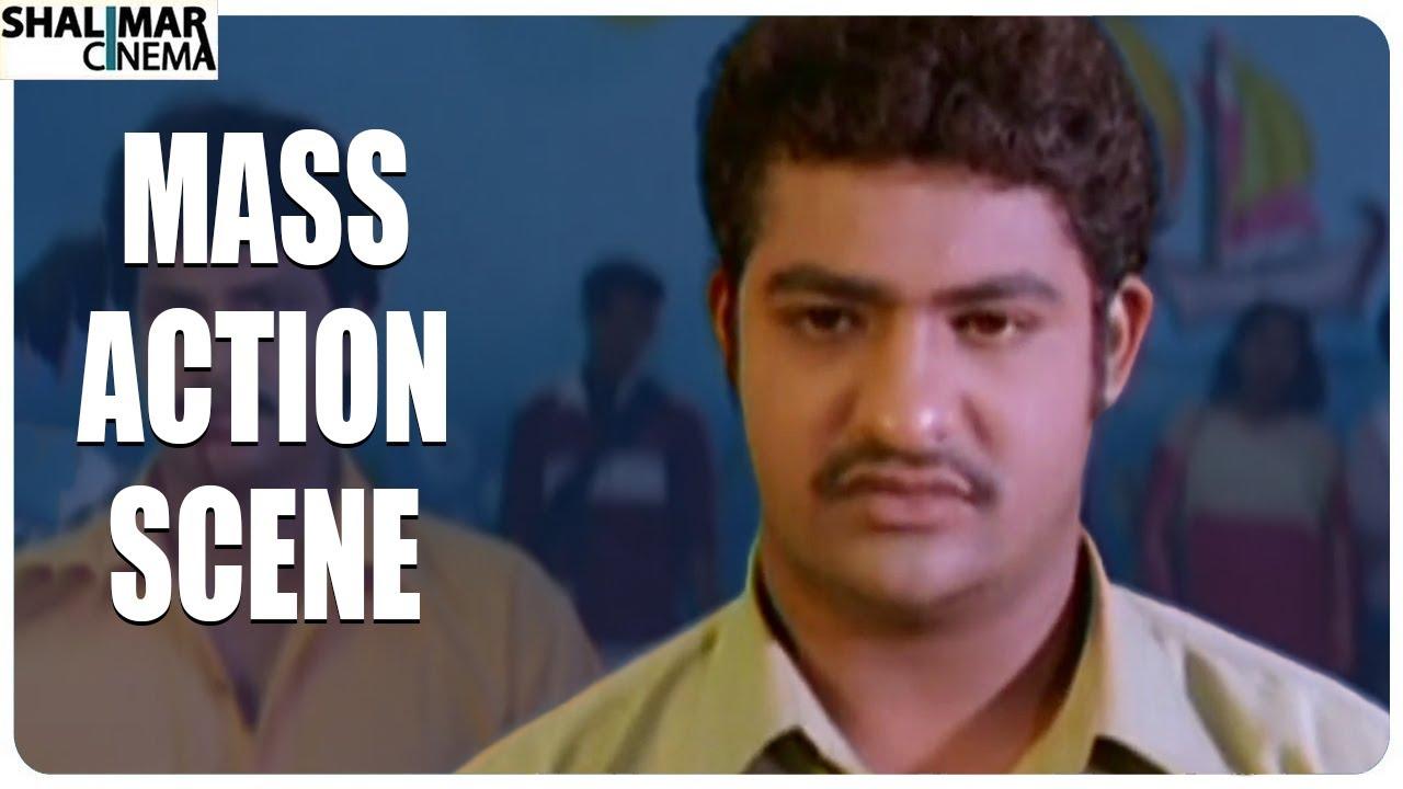 NTR Mass Fight Scene Scene || Subbu Telugu Movie || Shalimar Cinema