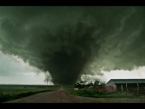 CLOSE VIOLENT TORNADO SOUND !!! Coleridge, NE 6-17-14