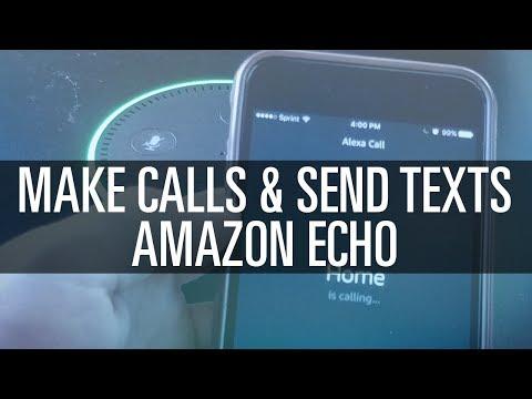 How do i set up alexa to make phone calls