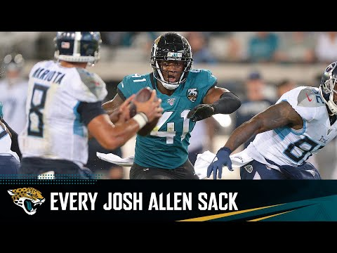 Every sack in Josh Allen's record-setting rookie season
