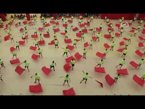 Color Guard Final Performance: Flag Technique
