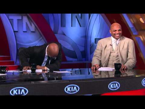 Inside the NBA  Charles Barkeley Cramps...
