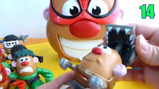 mr potato head avengers y transformers primera coleccion