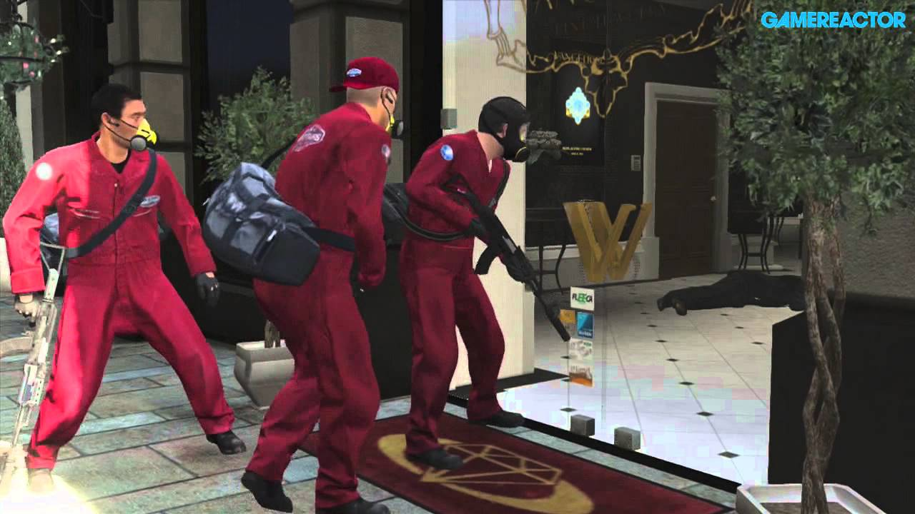 gta 5 walkthrough first heist the jewel store gameplay. Black Bedroom Furniture Sets. Home Design Ideas
