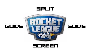 How To Split Screen Rocket League PS4