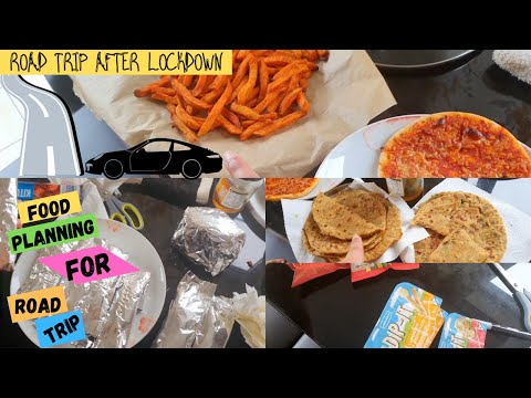 हिंदी-Indian meal planning for ROAD TRIP | Packing food for trip after #lockdown | Indian Youtuber