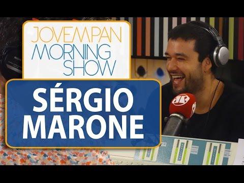 Sergio Marone conta detalhes sobre sonho de apresentador   Morning Show