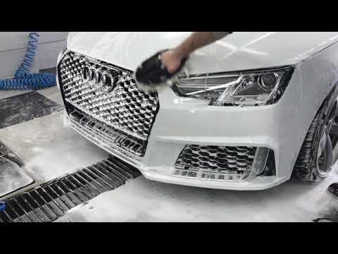Audi A4 B9. Detailing wash!