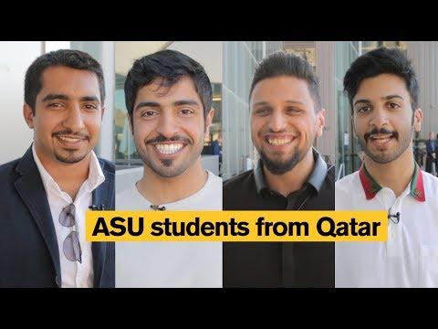 Arizona State University (ASU) Students from Qatar