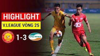 Highlight | Thanh Hóa vs Viettel | Trận Thua Tan Nát, Thanh Hoá Đối Diện Nhận Vé Rớt Hạng | FullHD
