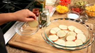 How To Make Nachos - #9 - Layering Potatoes, Adding Salt And Pepper — Appetites®